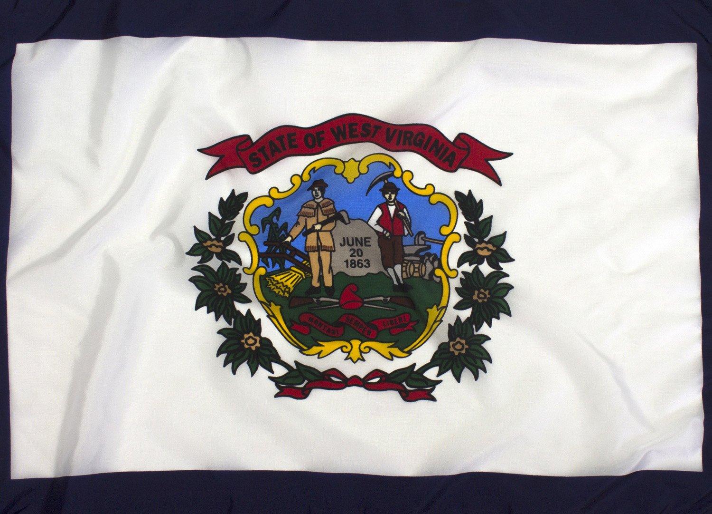 6x10ft West Virginia Flag - Highest Quality Outdoor Nylon