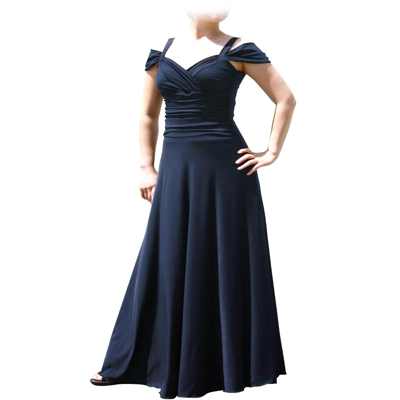Evanese Women\'s Plus Size Elegant Long Formal Evening Dress with ...