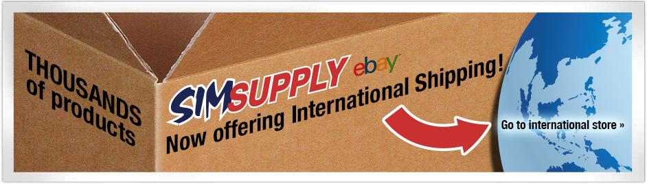 SIM Supply Shop International Customers