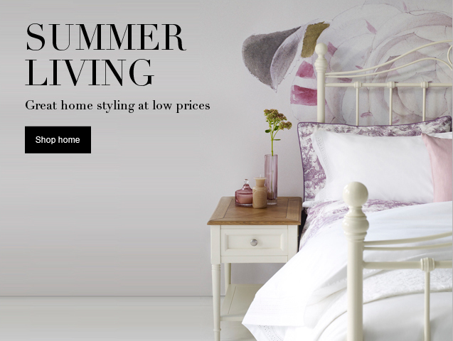 Summer living Great home styling at low prices
