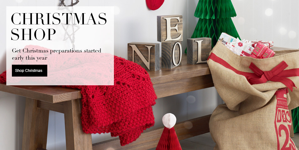 3 for 2 on Selected Christmas Items Get Christmas preparations started with 3 for 2