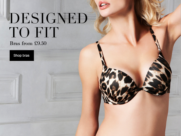 Designed to fit Bras from £9.50