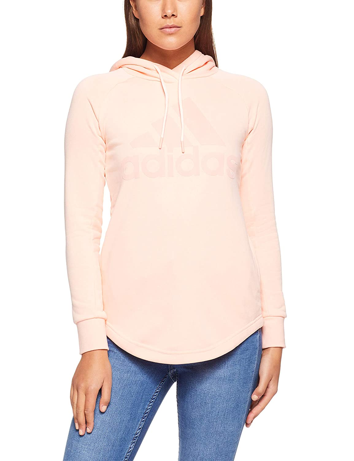 adidas Trefoil Crew Sweatshirt, Felpa Donna: Amazon.it