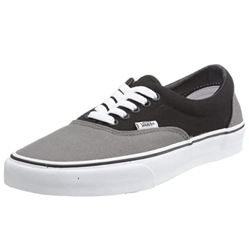 Vans Vulcanized - Zapatillas, unisex, color gris (pewter/black), talla 41