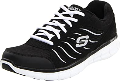 Skechers Synergy 11683, Damen Fashion Sneakers, Schwarz (BKW), EU 36