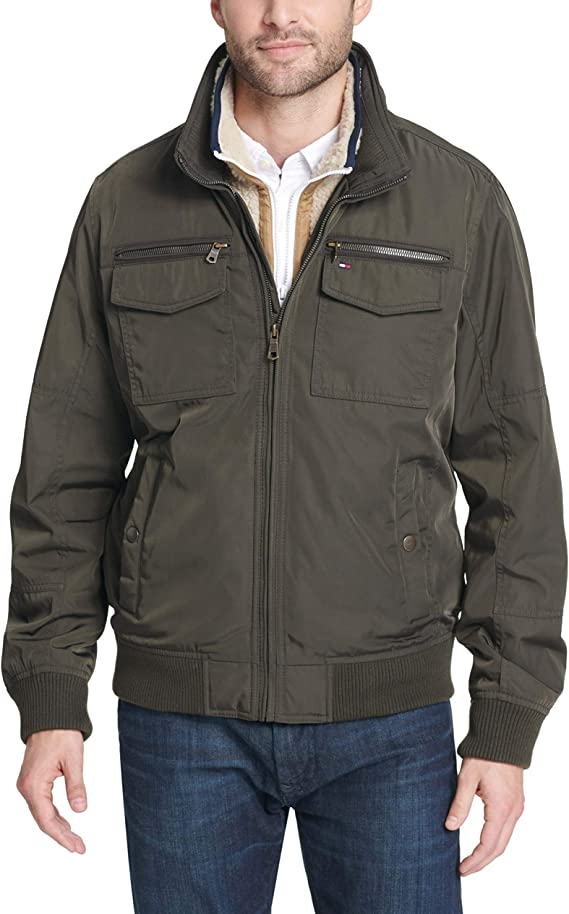 Tommy Hilfiger Men's Performance Bomber Jacket (Regular and Big & Tall Sizes)