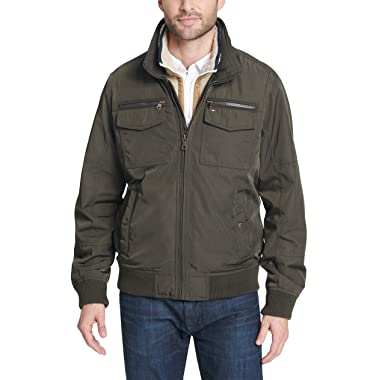 Tommy Hilfiger Men's Performance Bomber Jacket (Regular, Big & Tall)
