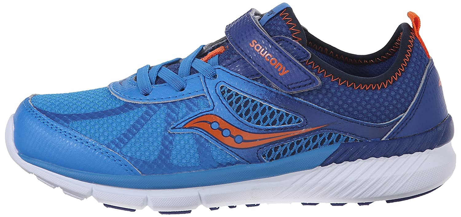Saucony Volt alternativa cierre Tenis (Little Kid), Azul
