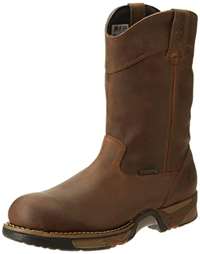 Rocky Men's Aztec Steel Toe Work Boot,Brown,8 ...