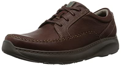 CLARKS Men's Charton Vibe Oxford, Brown, 8 W US