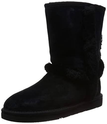 UGG Australia Womens Carter Black Winter Boot - 5
