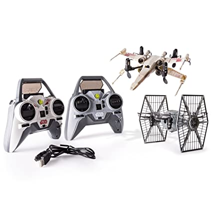 VsTie Air X Battle Star Drone Hogs Fighter SetAmazon Wars Wing LjMGqSVUzp