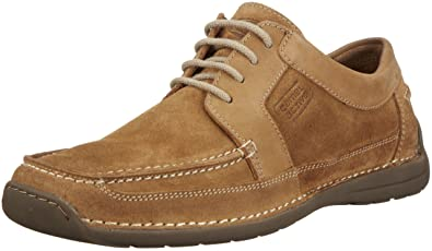 camel active Valencia 90 Moccasins Mens Brown Braun (cord) Size: 8 (42