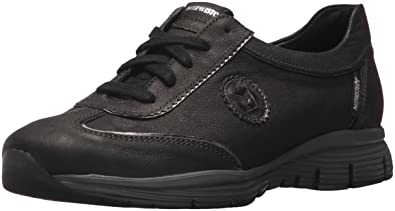 Mephisto Women's Yael Oxford, Black Greta/Dark Grey Magic, ...
