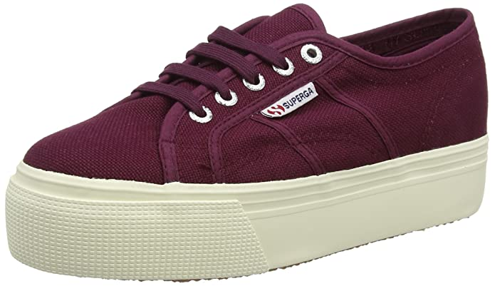 2790-Acotw Linea UP and Down, Zapatillas para Mujer, Blau (Navy-Offwhite), 35 EU Superga