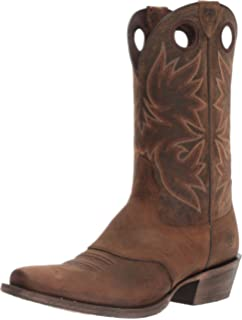 Men's Ariat Circuit Competitor Cowboy Boot, Size: 11 D, Weathered Tan Full Grain Leather