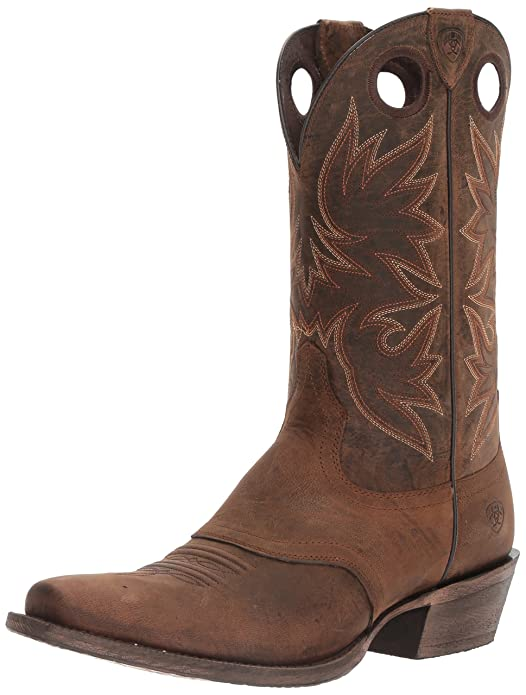 Men's Circuit Striker Western Cowboy Boot Chocolate Oiled Gaucho 8.5 D US