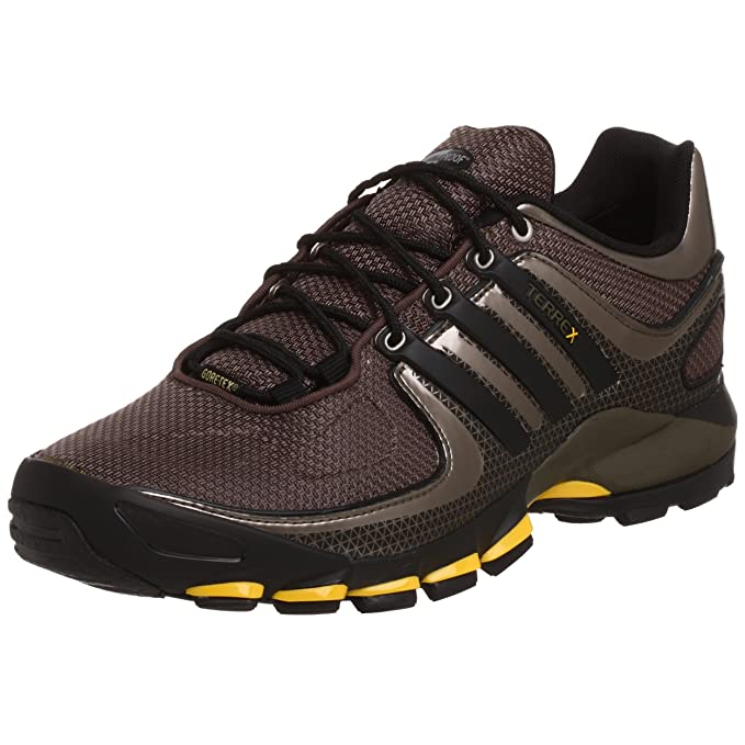 Adidas Men's Terrex Low GTX Trail Shoe, TrackBlackYellow