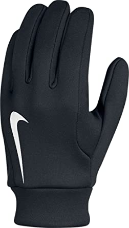 Nike Hyperwarm Field Player's Football Gloves Black/White Size Large