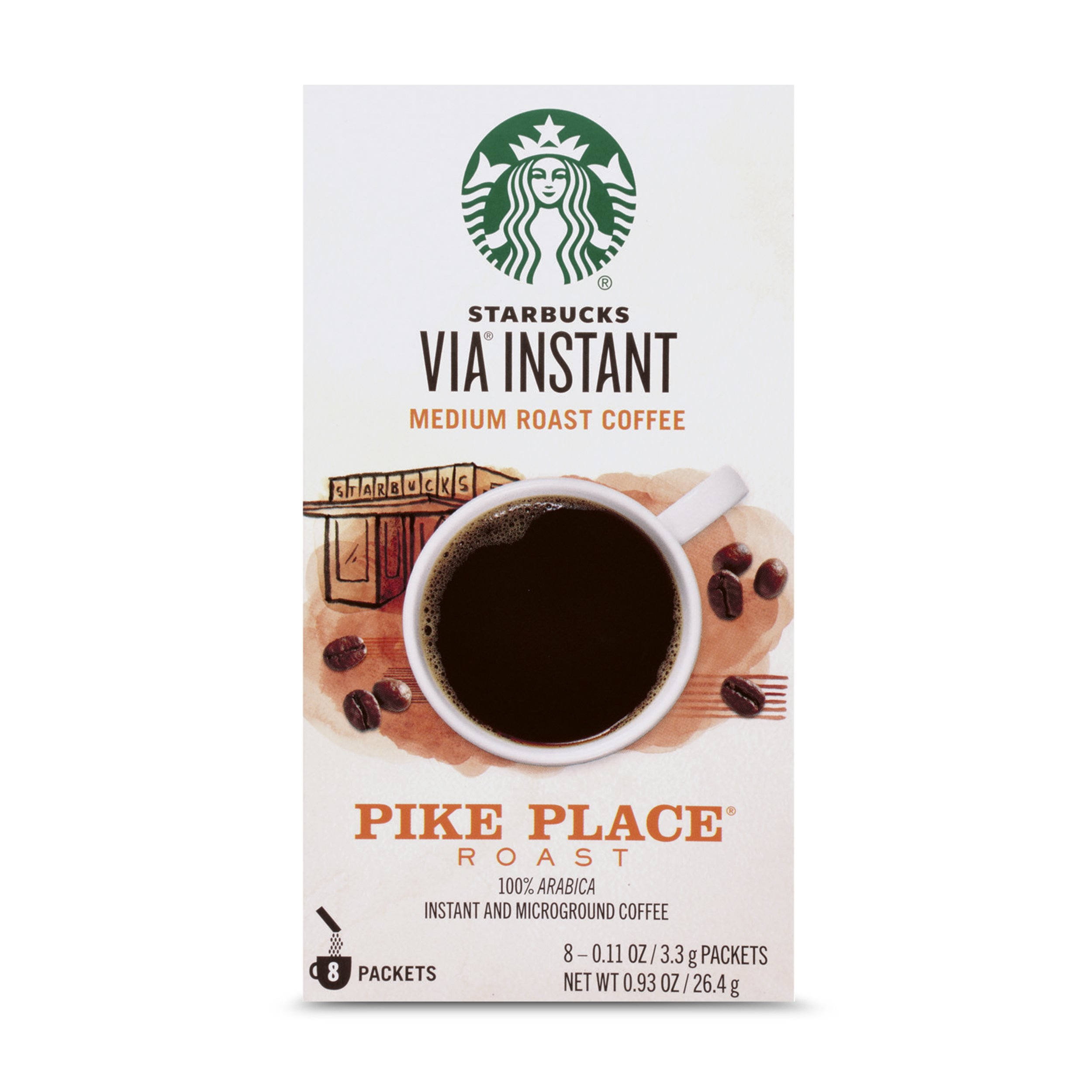 Starbucks via ready brew coffee 50-count packages