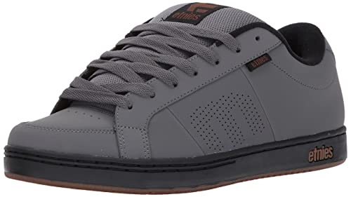 Etnies Kingpin Men Skateboarding Shoes, Grey, 5 UK (38 EU)