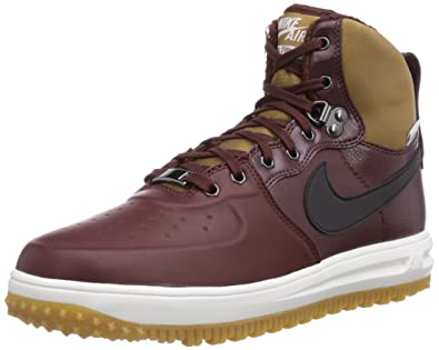 Nike Lunar Force 1 Sneakerboot, Mens Boots, Brown (Barkroot Brown/Black)