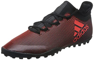 Adidas X Tango 17.3 TF, Chaussures de Football Homme, Multicolore (Core Black Red