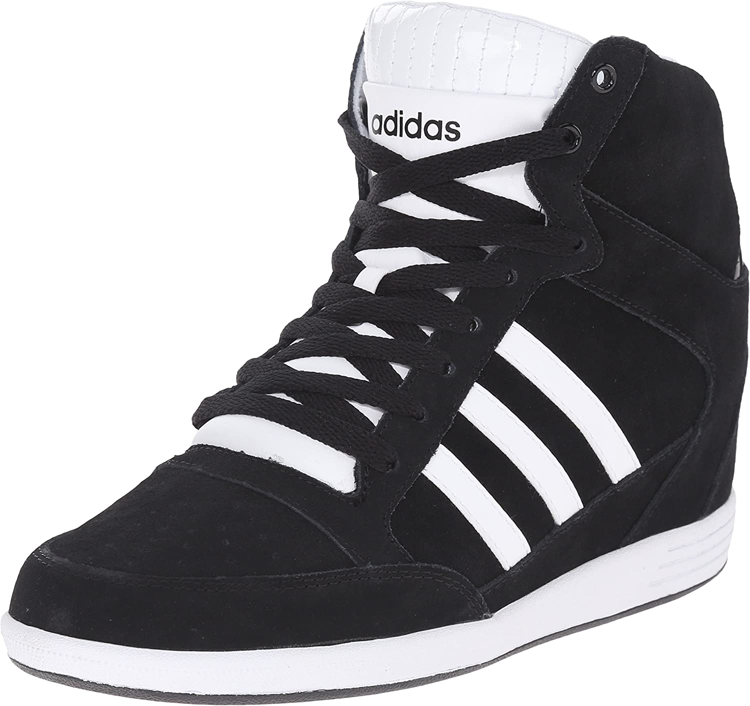 NEO Adidas Women's Super Wedge W High Top Fashion Sneaker