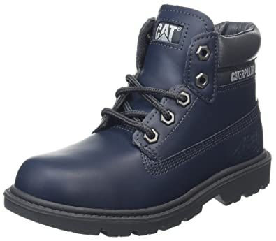 Caterpillar Colorado Plus Zip, Botas Unisex Niños, Azul (Kids Navy), 32.5 EU (1 UK)
