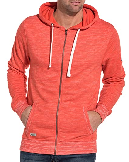 Zippé Capuche Sweat 74 À Orange Deeluxe Homme dtQrsCh