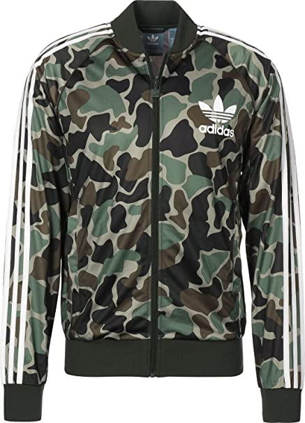 Adidas Camo SST Track Top Veste Homme XS – 42: