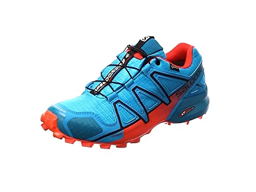 Salomon Speedcross 4 GTX Fjord Blue Cherry Tomato Black