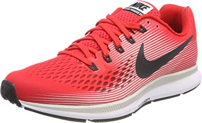 NIKE Air Zoom Pegasus 34 Mens Running Shoes (8 D(M) US, Speed RedAnthracite Vast Grey)