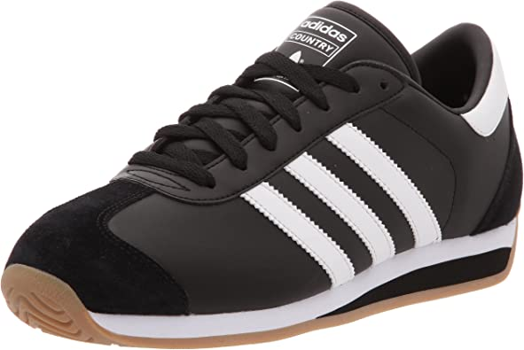 adidas Country Ii, Basket mode homme noirblancgomme, 44