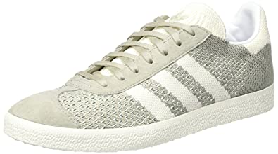 Adidas Gazelle Primeknit, Baskets Basses Mixte Adulte, Gris (Sesame/Off White/