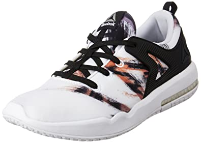 Reebok Women's Hexalite X Glide Gr Black, White and Coal Running Shoes - 6  UK