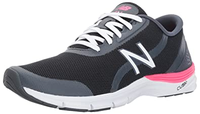 New Balance Women s 711v3 Komen Cross Trainer  BlackAlpha Pink  10 B US