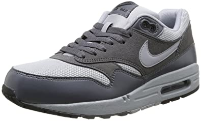Nike Air Max 1 Wolf Grey White Black Sneakers Best Deal [Pf