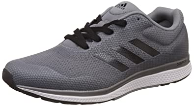 adidas Men's Mana Bounce 2 M Aramis Grey, Cblack and Ironmt Running Shoes -  6