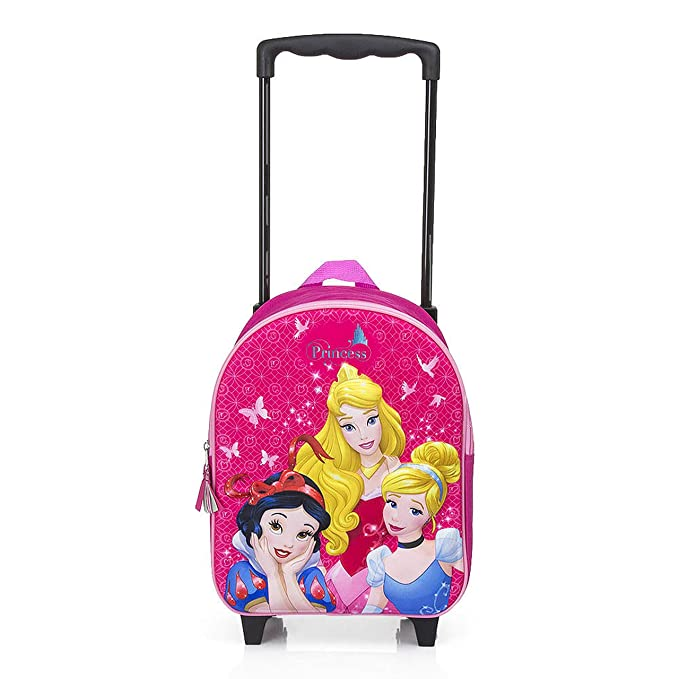 Sac À Dos Trolley Princess Disney 3d - 31 X 25 X 12cm - A004 qS73P