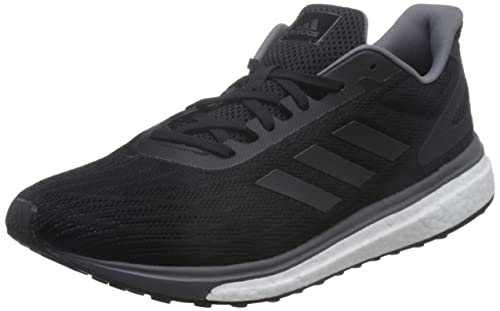 adidas Response Lt, Scarpe Running Uomo, Nero (Core Black/Night Metallic/