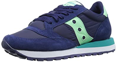 Originals Womens Jazz Original Classic Retro Sneaker, Purple (Light Purple/Coral), 7.5 UK (41 EU) Saucony