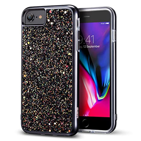 iphone 8 coque glitter
