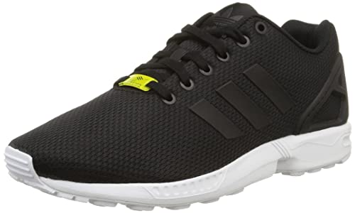 adidas Zx Flux, Zapatillas Unisex, Multicolor (Plata/Blanco), 49 1/3 EU