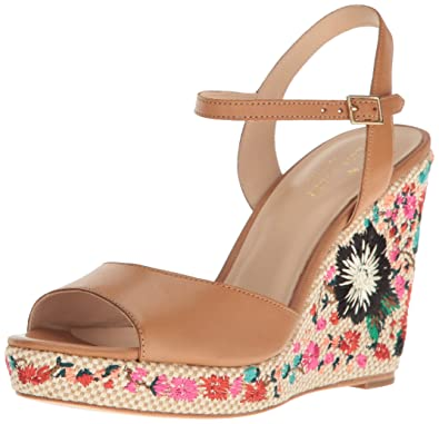 clearance outlet store new styles Kate Spade New York Platform Floral Wedges finishline sale online RwhoIXnG