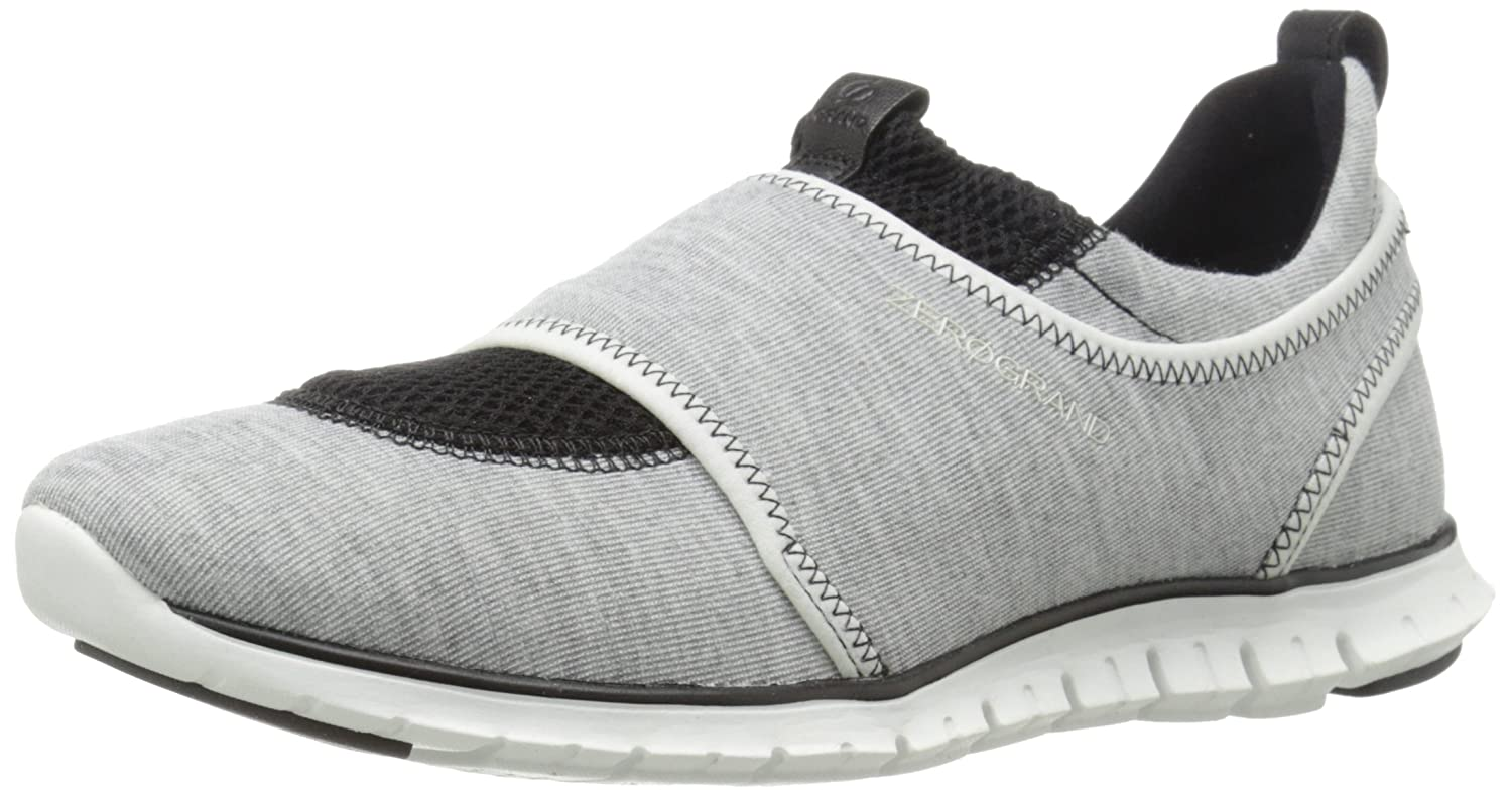 Womens Shoes Cole Haan Zerogrand Slip-On Sneaker Grey/Optic White/Black