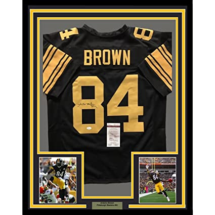 antonio brown color rush jersey