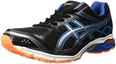 ASICS Mens GelPulse 7 BlackLightingElectric Blue