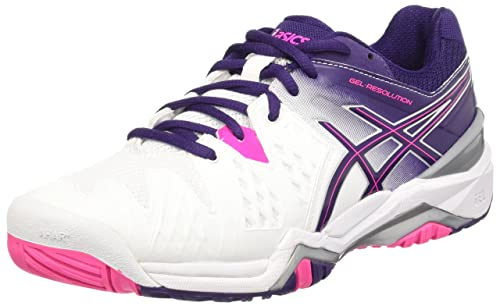 ASICS Gel Resolution 6 Clay e553y 2106 Donna Scarpe Da Tennis Rosa Scarpe Da Tennis Nuovo