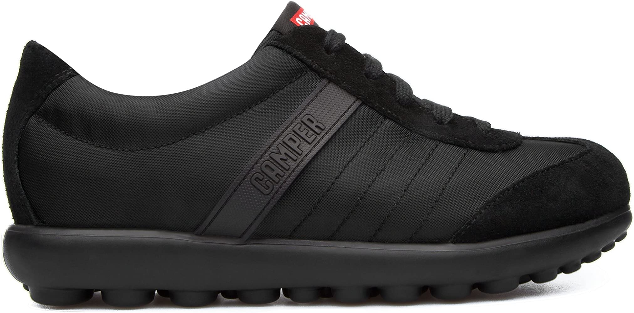 Camper Runner Black Leather 38 EU: Zapatos y complementos